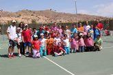 II jornadas escolares de tenis en el Club de Tenis Totana - 1