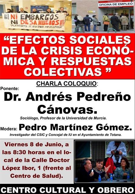 Efectos sociales de la crisis económica y respuestas colectivas, Foto 2
