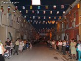 El calendario de los festejos veraniegos en barrios y pedanías de Totana comienzan a finales de junio con las fiestas del Olímpico-Las Peras