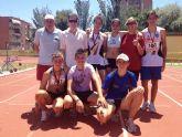El Club Atletismo Mazarrón consigue 9 medallas en el Campeonato Regional Cadete al Aire Libre