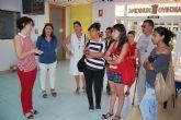 Alumnos del 1� curso del Ciclo Formativo de Gesti�n Administrativa del IES Miguel Hern�ndez visito el Ayuntamiento