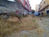 """IU denuncia la situación de abandono, desidia y peligro para los vecinos en que se encuentra el solar de """"La Yesera"""""""