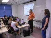 Clausurado el primer curso de administraci�n electr�nica