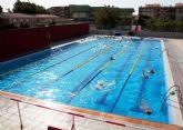 El lunes abre al público en general la piscina municipal de Mazarrón