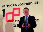 Gin�s Clares, Director  de Administraci�n y Finanzas de Grupo Fuertes, premiado por la consultora KPMG y Actualidad Econ�mica como uno de los mejores financieros de España