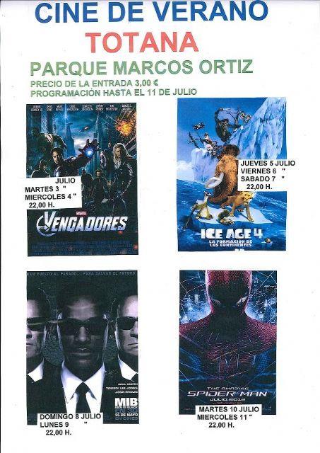 Arranca mañana martes 3 de julio el Cine de Verano en el auditorio Marcos Ortíz con la proyección de la película Vengadores, Foto 1