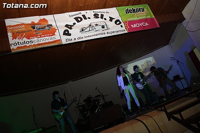 La Asociación de Padres de Discapacitados Psíquicos de Totana PADISITO organizó un concierto benéfico, Foto 1