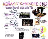 Las fiestas de la pedanía de Viñas-Carivete se celebran este próximo fin de semana, en honor a la Virgen de las Viñas