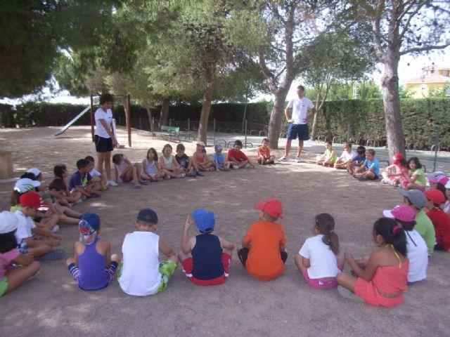 Un total de 266 niños disfrutan ya de las actividades del Verano Polideportivo, como el campus de verano y los cursos de natación, Foto 4