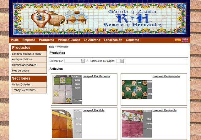 Alfarería Romero y Hernández confía en Superweb para su nueva página web, Foto 1