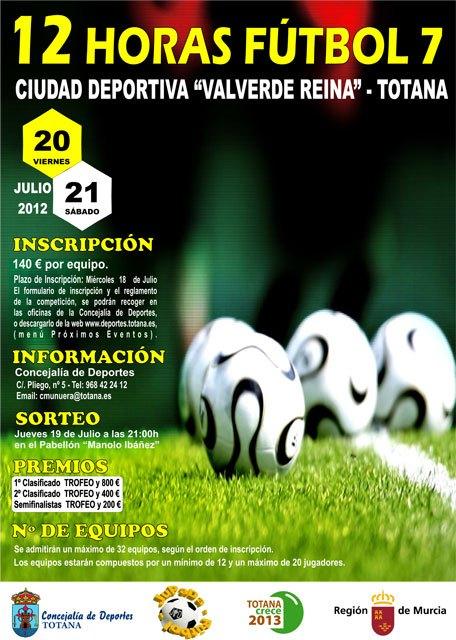 La concejalía de Deportes organiza las 12 Horas de Fútbol 7, Foto 2
