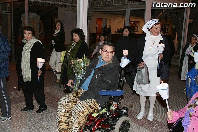 La Delegación de Lourdes de Totana siente la perdida de uno de sus miembros mas jóvenes, José Ángel de tan solo 22 años, Foto 1