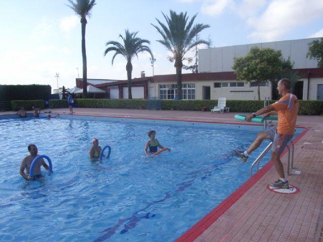 La concejalía de Deportes pone en marcha el programa de Gimnasia de Mantenimiento y Aquagym durante los meses de julio y agosto, Foto 1