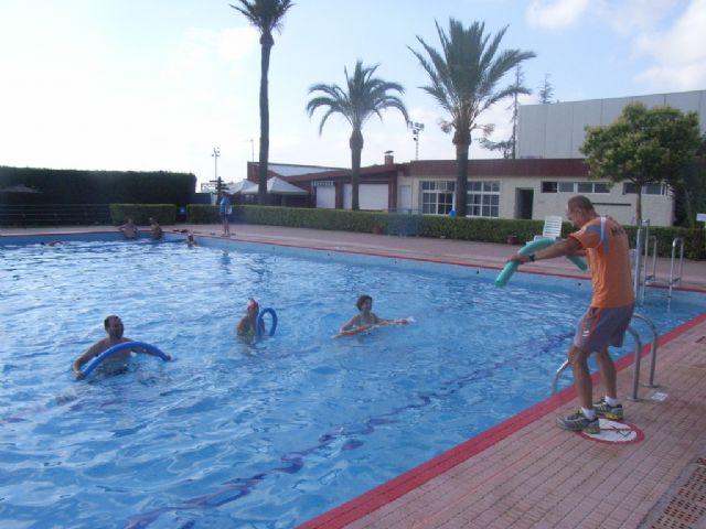 La concejalía de Deportes pone en marcha el programa de Gimnasia de Mantenimiento y Aquagym durante los meses de julio y agosto, Foto 2