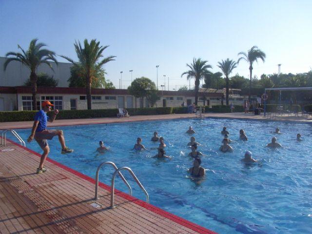 La concejalía de Deportes pone en marcha el programa de Gimnasia de Mantenimiento y Aquagym durante los meses de julio y agosto, Foto 3
