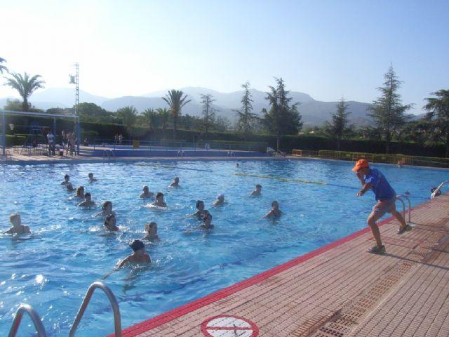 La concejalía de Deportes pone en marcha el programa de Gimnasia de Mantenimiento y Aquagym durante los meses de julio y agosto, Foto 4