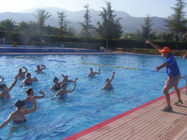 La concejalía de Deportes pone en marcha el programa de Gimnasia de Mantenimiento y Aquagym durante los meses de julio y agosto, Foto 5