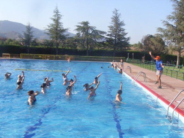 La concejalía de Deportes pone en marcha el programa de Gimnasia de Mantenimiento y Aquagym durante los meses de julio y agosto, Foto 6