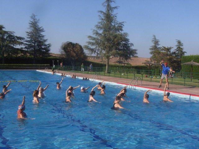 La concejalía de Deportes pone en marcha el programa de Gimnasia de Mantenimiento y Aquagym durante los meses de julio y agosto, Foto 7