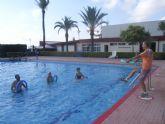 La concejalía de Deportes pone en marcha el programa de Gimnasia de Mantenimiento y Aquagym durante los meses de julio y agosto