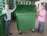 El ayuntamiento comienza a instalar 180 nuevos contenedores para basura orgánica