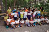 Un total de 26 niños participan en el campamento de las Aulas de la Naturaleza en el paraje de Las Alquer�as