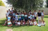 Más de cuarenta niños han participado en la primera quincena del Verano Polideportivo en el Complejo Deportivo Guadalentín de El Paretón