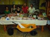 La asociación Los Romeros de Lébor sorteó una monumental cesta