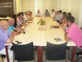 Cruz se reúne con los hosteleros de Mazarrón para tratar las necesidades y sugerencias del sector