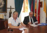 La UCAM firma un convenio de colaboración con el Ayuntamiento de Mazarrón