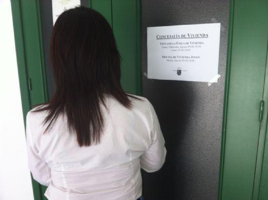 La Ventanilla Única de la Oficina de Vivienda de la Comunidad Autónoma de Murcia en Totana prestará servicio cuatro días durante el mes de agosto, Foto 1