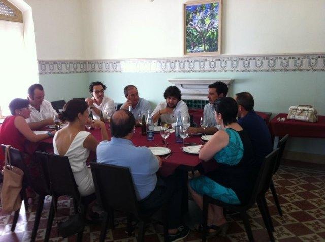 Los concejales del PP totaneros se reúnen con diputados nacionales y de la Asamblea Regional, Foto 2