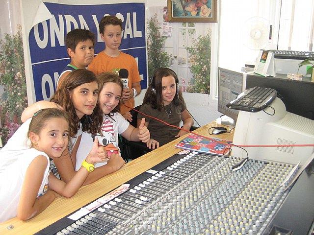 ONDA LOCAL RADIO realizó un programa especial protagonizado por niños, Foto 2