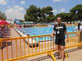 El totanero José Miguel Cano Guerao participó en elCampeonato de España de Natacion de Verano