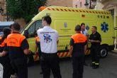 El Servicio Municipal de Transporte Sanitario de Totana atendió un total de 207 servicios de asistencias del 061