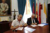 El ayuntamiento firma un convenio con la UCAM para desarrollar actividades de formación