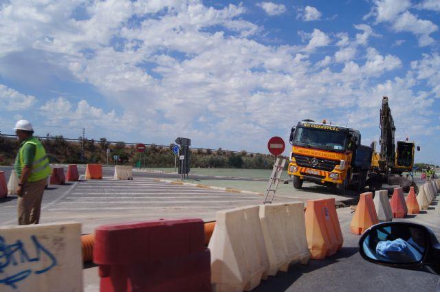 Ya está en marcha la segunda fase de las obras del Colector General de Saneamiento de Lébor, Foto 1