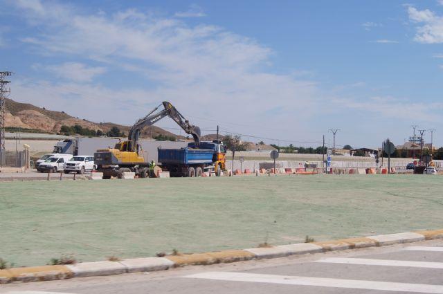 Ya está en marcha la segunda fase de las obras del Colector General de Saneamiento de Lébor, Foto 2