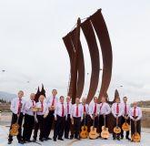 La rondalla de Mazarrón homenajea a Roque Moreno Guarinos