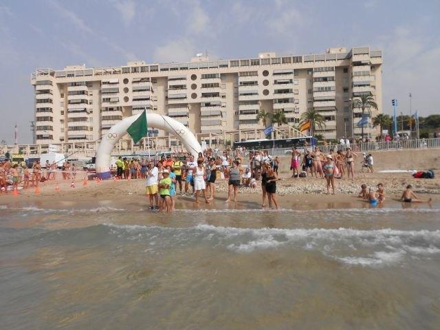 Two totaneros participated in Travesia Muchavista Beach (San Juan, Alicante), Foto 3