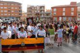 La Virgen del Cisne congrega en Mazarrón a centenares de fieles