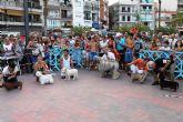 150 perros compiten en el I concurso nacional canino de Mazarrón