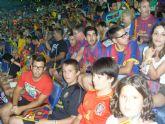 La Peña Barcelonista de Totana estuvo presente en el partido de ida de la final de la Supercopa