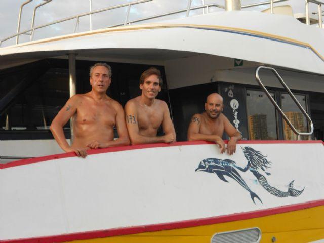 José Miguel Cano participó en la XI Travessia popular L´Illa - Port de Benidorm - 4