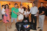 Tapones de plástico solidarios para Eva Giménez Reinaldos