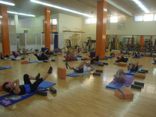 Arranca el programa de gimnasia de mantenimiento ofertado por la concejalía de Deportes en el gimnasio municipal La Cárcel, Foto 1