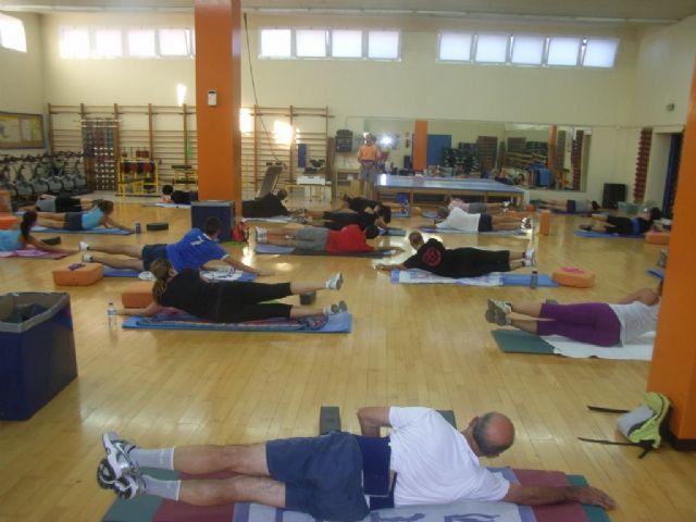 Arranca el programa de gimnasia de mantenimiento ofertado por la concejalía de Deportes en el gimnasio municipal La Cárcel, Foto 3