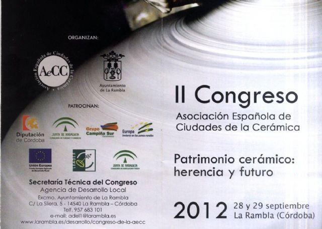La alcaldesa de Totana presidirá en Córdoba el II Congreso Nacional Patrimonio cerámico: herencia y futuro impulsado por las Ciudades de la Cerámica, Foto 1