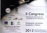 La alcaldesa de Totana presidirá en Córdoba el II Congreso Nacional Patrimonio cerámico: herencia y futuro impulsado por las Ciudades de la Cerámica