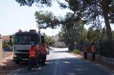 La Dirección General de Carreteras está acometiendo trabajos de limpieza y desbroce de los arcenes y limpieza de cunetas en las carreteras de C-7 y C-8